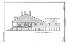 HABS LA,35-BERM,2- (sheet 10 of 32) - Oakland Plantation, Route 494, Bermuda, Natchitoches Parish, LA