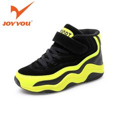 Kids Boots Boys Girls Fashion Winter Boot Comfort Warm Ankle Sneakers  Leather Snow Hiking Shoes (U.S 4 M-Big Kids, Yellow) 7522749ada