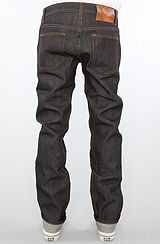 Naked & Famous The Weird Guy Jeans in Left Hand Twill Selvedge Wash