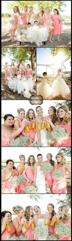 fun wedding party photos phoenix wedding photographer