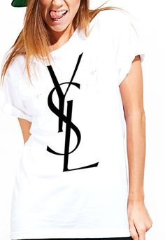 ysl tshirts tshirts ysl ysl t shirts chanel by LingoApparel on Etsy, $17.99
