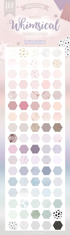 Whimsical Branding Patterns. Design inspiring, creative imagery for your brand, blog or business by mixing graphics and text with a unique pattern, pretty texture or stunning gradient. Boost followers, sales, sign-ups and more by adding a creative element to your marketing material and web design that will set you apart from the rest.$10 https://crmrkt.com/NjbvQX?u=sarahdesign #ad