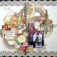 A Project by Lu Minoti from our Scrapbooking Gallery originally submitted 09/07/13 at 06:14 PM