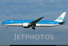 Photo of PH-BHI - Boeing 787-9 Dreamliner - KLM Royal Dutch Airlines Boeing 787 9 Dreamliner, Photo Online, Airplanes, Dutch, Aircraft, Commercial, Life, Planes, Aviation