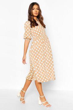 Polka Dot Maternity Dresses, Maternity Dress Outfits, Maternity Fashion, Moca, Robes Midi, Chiffon Maxi Dress, Unisex, Dot Dress, Dress Collection