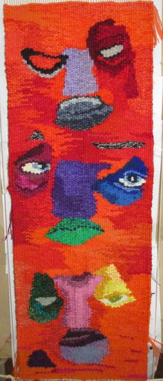 many faces of adam tapestry weaving https://www.facebook.com/pages/Winjanaroad-Studio/1425387581038706?ref=hl