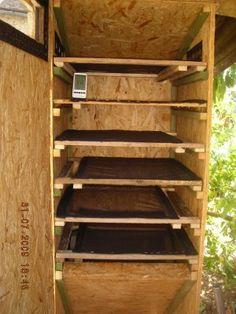Se fabriquer un séchoir solaire pour conserver sainement fruits et légumes - [Yonne Lautre]