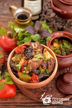 Чанахи (говядина с овощами по-грузински)