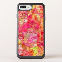 Retro Funky Cool Modern Polygon Mosaic Pattern Speck iPhone Case - summer gifts season diy template ideas