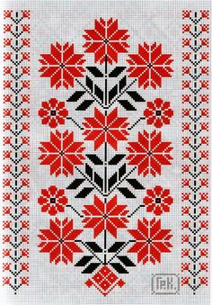 Thrilling Designing Your Own Cross Stitch Embroidery Patterns Ideas. Exhilarating Designing Your Own Cross Stitch Embroidery Patterns Ideas. Folk Embroidery, Embroidery Patterns Free, Cross Stitch Embroidery, Embroidery Designs, Cross Stitch Borders, Cross Stitch Charts, Cross Stitching, Cross Stitch Patterns, Palestinian Embroidery