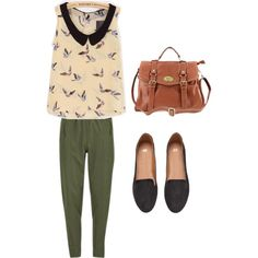 Spencer Hastings by rebecca-fitzpatrick on Polyvore featuring polyvore fashion style Vero Moda H&M