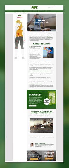 Kreation und Umsetzung eines interaktiven Rückenschmerzberaters für die große ABC Pflaster Kampagne. Auf Basis einer umfassenden SEO Analyse legt der Berater einen Fokus auf einen echten Content mit Mehrwert. Seo Analyse, Marketing