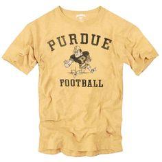 College '47 Brand Purdue Boilermakers Kerrigan Collection Track Scrum T-Shirt