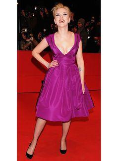 Scarlett Johansson's Best Red Carpet Moments - scarlett johansson red carpet looks