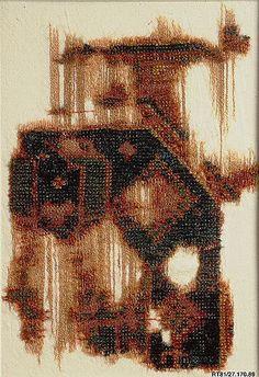 Seljuk rug fragment, 13th century, Turkey. The Metropolitan Museum of Art, New York