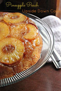 Upside-Down Cake on the Grill   Recipe   Peach Cake, Charcoal Grill ...