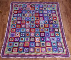 Oh no!  I am feeling the need to make a Summer Garden Granny Square blanket!