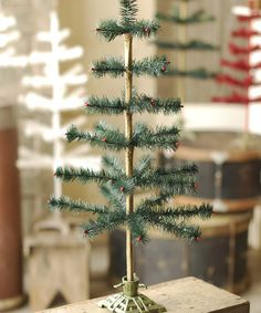 Take a look at this Holiday Feather Tree by Lancaster Home & Holiday on #zulily today!