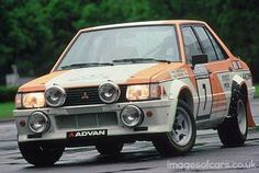Mitsubishi Lancer EX 2000 Turbo rally car