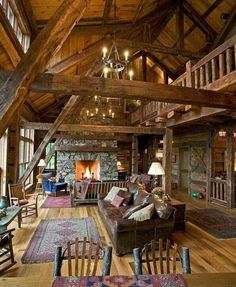 Rustic lodge