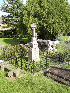"Jenny ""The Swedish Nightingale"" Lind.  Great Malvern Cemetery, Great Malvern, Worcestershire, England"