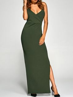 GET $50 NOW | Join Zaful: Get YOUR $50 NOW!http://m.zaful.com/back-criss-high-slit-surplice-maxi-slip-dress-p_229041.html?seid=645238zf229041