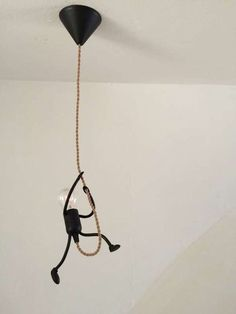 nice DIY Funny Stick Figure Hanging Light: great fir any kids room, industrial decor or someone with a sense of humor. Love the ide. funny DIY Funny Stick Figure Hanging Light: great fir any kids room, industrial decor or someon… Home Crafts, Diy Home Decor, Room Decor, Kids Decor, Funny Stick Figures, Deco Luminaire, Creation Deco, Diy Funny, Lampshades
