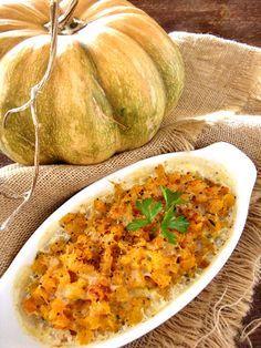 Zucca al forno delicata http://blog.giallozafferano.it/graficareincucina/zucca-al-forno-delicata/