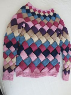 Entrelac Sweater