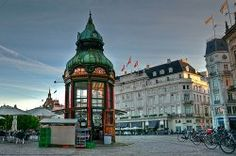 Many green old copper roofs in Copenhagen, this is an old news stand, now used as a Cafe Travel Around The World, Around The Worlds, Copper Roof, Green Copper, Copenhagen Denmark, Copenhagen Travel, Amazing Architecture, Holiday Destinations, Beautiful Landscapes