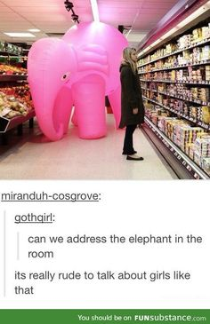 Silly elephants