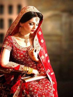 Soma Sengupta Indian Bridal Makeup- Elegant Red!