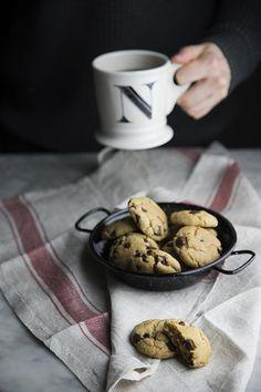 Cookies con gocce di cioccolato (veg)