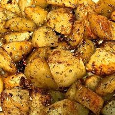 Classic Oven Roasted Potatoes with Garlic and Rosemary