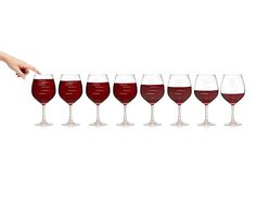 MAJOR SCALE MUSICAL WINE GLASSES - PARTY SET
