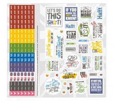 Sticker für Vokabel-Häfft Englisch
