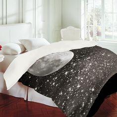 Shannon Clark Love Under The Stars Duvet Cover