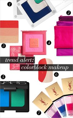 Jamberry Nails - As seen in @DailyCandy Trend Alert: Makeup Colorblocking