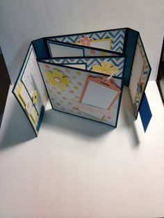 My Creative Corner!: Watercolor Wonder Folding Photo Album Tutorial