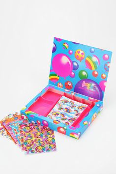I can't believe Urban has all of the Lisa Frank stuff that I used to be obsessed with! Lisa Frank Limited Edition Vintage Sticker Box! Adding this to my Christmas list!