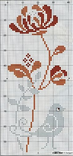 Check out Deanna Pavay's cross stitch board! Cross Stitch Freebies, Cross Stitch Bookmarks, Cute Cross Stitch, Cross Stitch Bird, Cross Stitch Animals, Cross Stitch Flowers, Cross Stitch Charts, Cross Stitch Designs, Cross Stitching