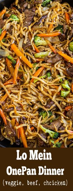 YOU want THE BEST ever LO Mein recipe? I got you covered! Has the most raving re. Asian Recipes, Beef Recipes, Chicken Recipes, Cooking Recipes, Healthy Recipes, Ethnic Recipes, Asian Foods, Noodle Recipes, Recipies