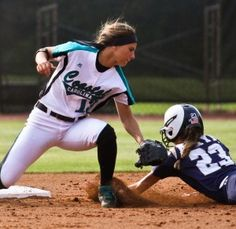 Tagged OUT! Softball Uniforms, People Having Fun, Fastpitch Softball, Picture Ideas, Athlete, Photoshoot, Running, Sports, Women