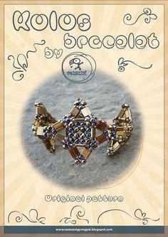 Kolos bracelet...PDF instruction for personal by beadsbyvezsuzsi