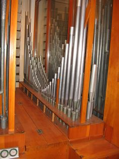 An up close view of the Symphonic Organ at BU.