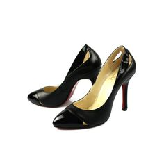 red louboutins men - Pre-owned Christian Louboutin Black Suede Marcia Balla 45 Pumps ...