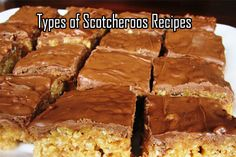 Different Types Of Scotcheroos Recipes [List] #ScotcheroosRecipes www.scotcharoos.net/types-of-scotcheroos-recipes/