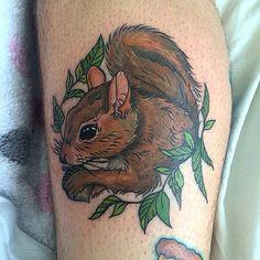 Nice tattoo by Amanda Burks.