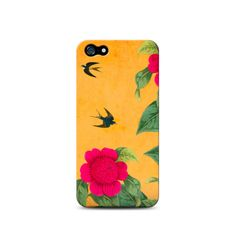 VirguCase Camélias 2 by Benedita Feijó para iPhone 5/5s