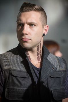 Jai Courtney as Eric in Divergent. I hated his character in the book, but he was so cunty in the movie, I have to give him props! Loved it!!